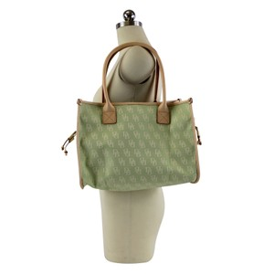 Dooney & Bourke Small Signature Tote in Celery
