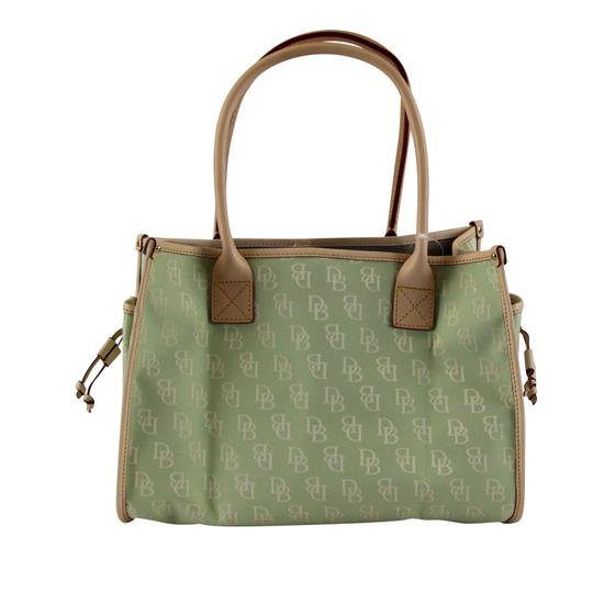 Dooney & Bourke Small Signature Tote in Celery Image 1