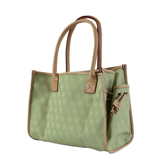 Dooney & Bourke Small Signature Tote in Celery Image 2