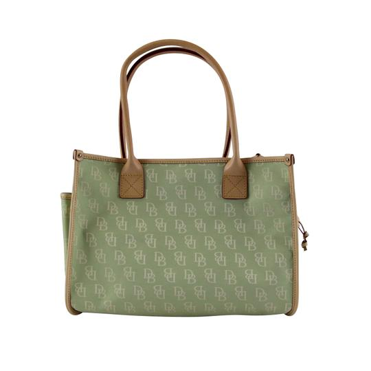 Dooney & Bourke Small Signature Tote in Celery Image 3