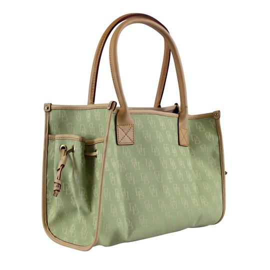 Dooney & Bourke Small Signature Tote in Celery Image 4