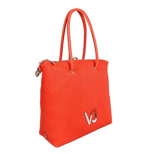 Preload https://img-static.tradesy.com/item/25272460/versace-jeans-collection-coral-faux-leather-tote-0-0-540-540.jpg