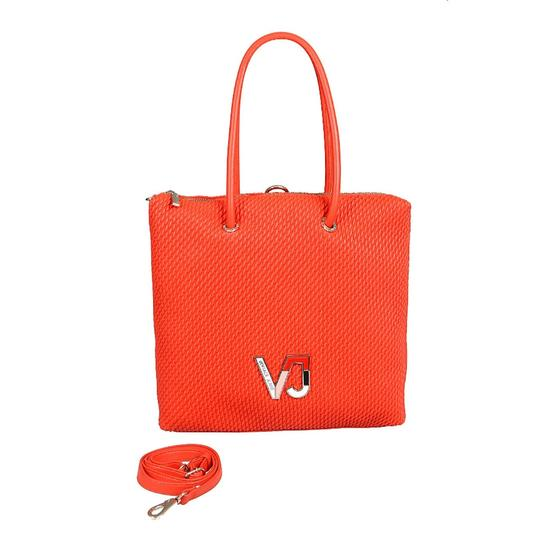Versace Jeans Collection Tote in Coral Image 1