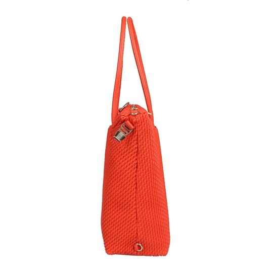 Versace Jeans Collection Tote in Coral Image 2
