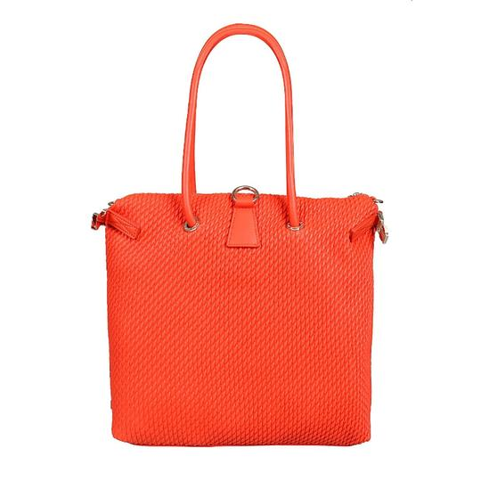 Versace Jeans Collection Tote in Coral Image 3