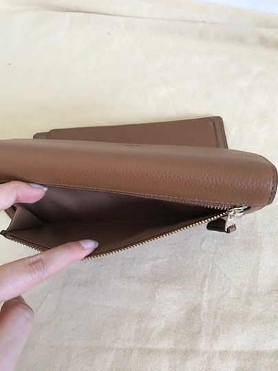 Coach $250 NWT PEBBLE LEATHER CHECKBOOK WALLET F52715 Image 6