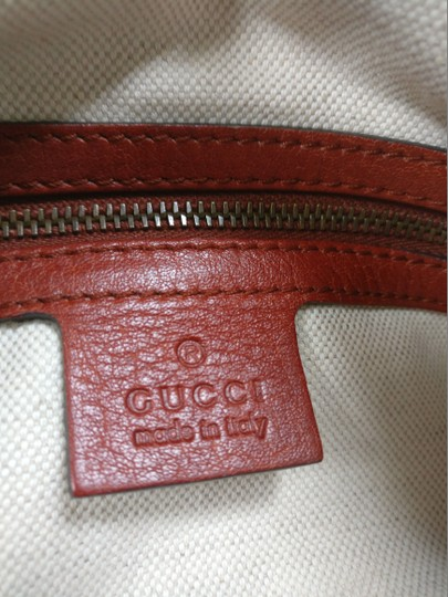 Gucci Bamboo Satchel Leather Dome Tote Image 10
