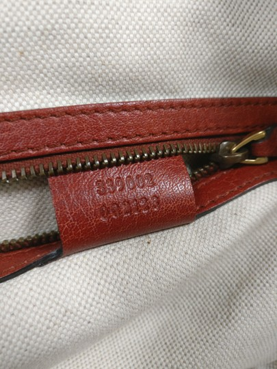 Gucci Bamboo Satchel Leather Dome Tote Image 11