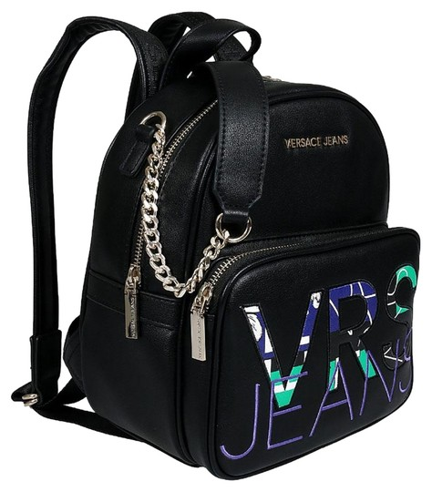 Preload https://img-static.tradesy.com/item/25272491/versace-jeans-collection-blackpurpleturquoise-blackpurpleturquoise-faux-leather-backpack-0-1-540-540.jpg
