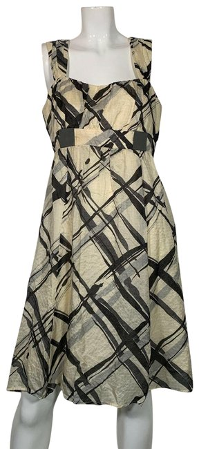 Preload https://img-static.tradesy.com/item/25272497/nanette-lepore-multicolor-silk-plaid-ivory-black-party-mid-length-cocktail-dress-size-12-l-0-2-650-650.jpg