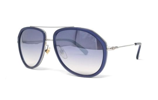 Preload https://img-static.tradesy.com/item/25272528/mcm-bluesilver-613-424-unisex-aviator-sunglasses-0-0-540-540.jpg