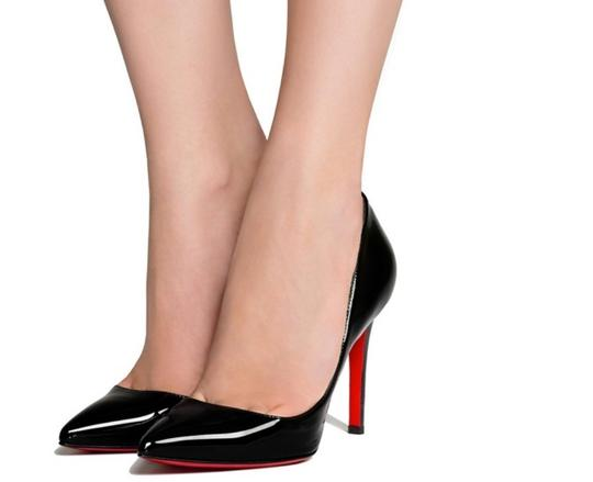 9b7b0ffaf8 Christian Louboutin Black Pigalle Patent Leather 100mm Pumps. Size: EU ...