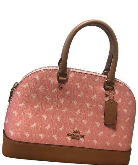 Preload https://img-static.tradesy.com/item/25272576/coach-sierra-mini-satchel-with-butterfly-dot-print-f29804-blushchalklight-gold-leather-cross-body-ba-0-1-540-540.jpg