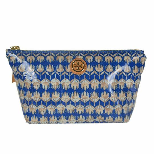 Preload https://img-static.tradesy.com/item/25272580/tory-burch-evening-sky-floral-small-slouchy-pouch-cosmetic-bag-0-0-540-540.jpg