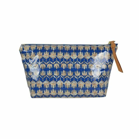 Tory Burch Small Slouchy Floral Cosmetic Case Pouch Image 1