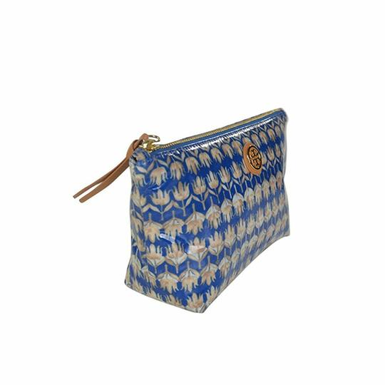 Tory Burch Small Slouchy Floral Cosmetic Case Pouch Image 2