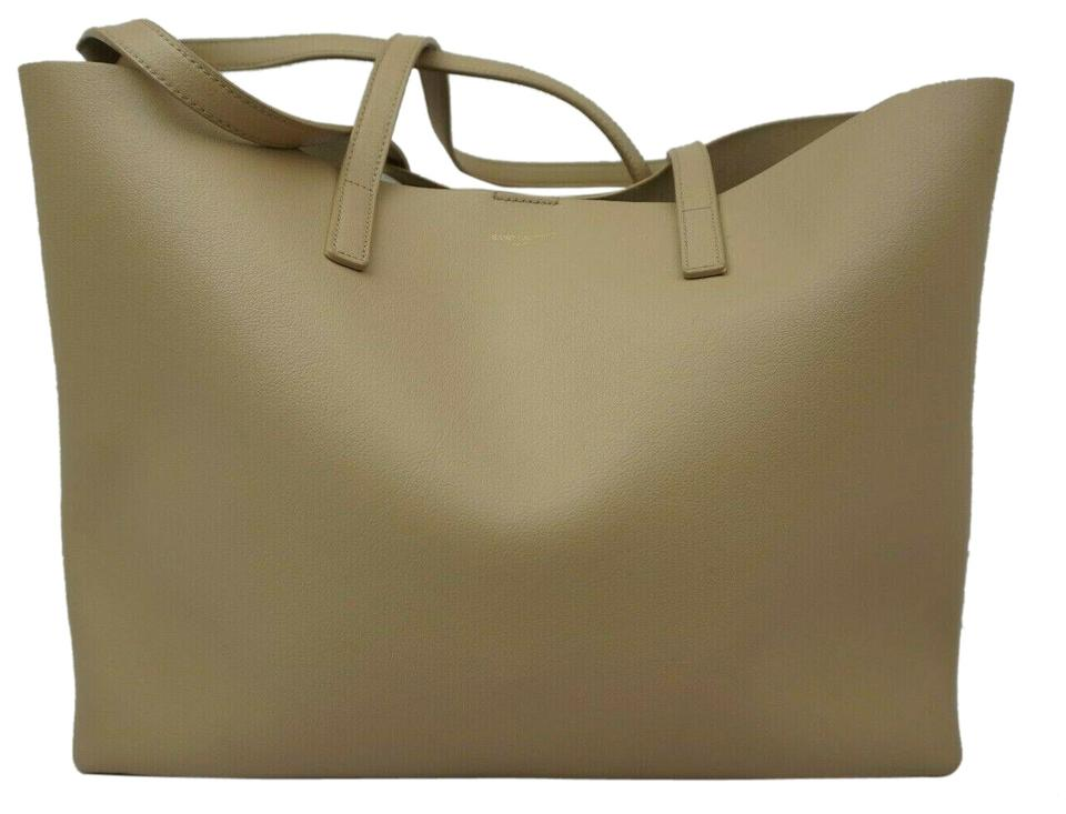 3ddc84cf514 Saint Laurent Bag Ysl Large Shopping Light Natural Shopper Beieg ...