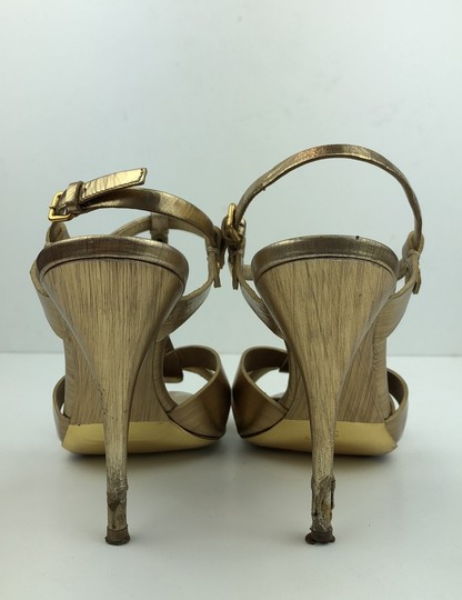 Miu Miu Gold Pumps Image 3