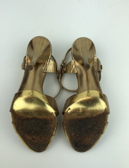 Miu Miu Gold Pumps Image 4