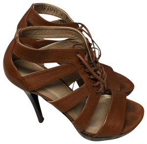 Stuart Weitzman Heels Brown Pumps
