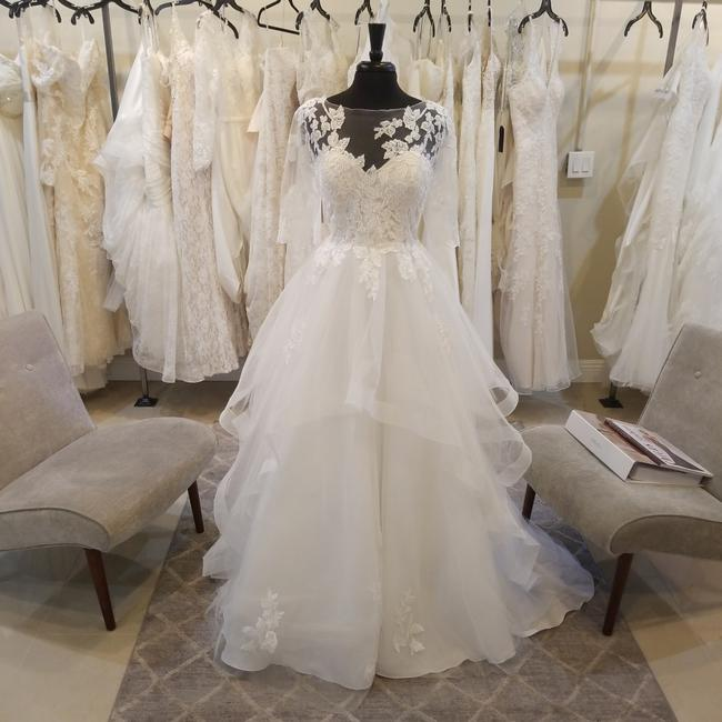 Item - Off White Tulle and Lace 2019 Odeta Traditional Wedding Dress Size 12 (L)