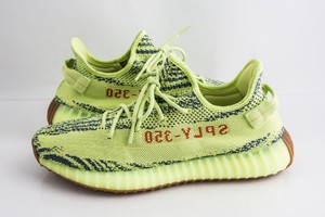 adidas X Yeezy Yellow Boost 350 V2 Semi Frozen Shoes