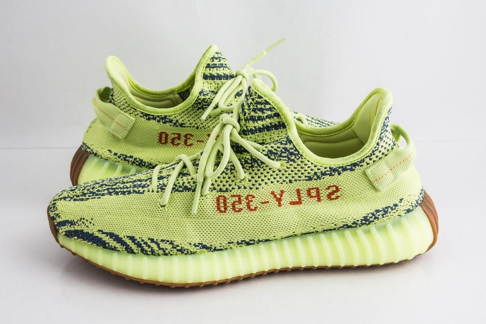 online store 12010 be7cc adidas X Yeezy Yellow Boost 350 V2 Semi Frozen Shoes