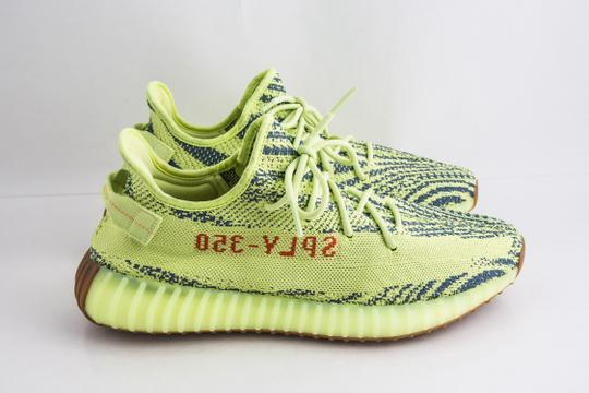 adidas X Yeezy Yellow Boost 350 V2 Semi Frozen Shoes Image 3
