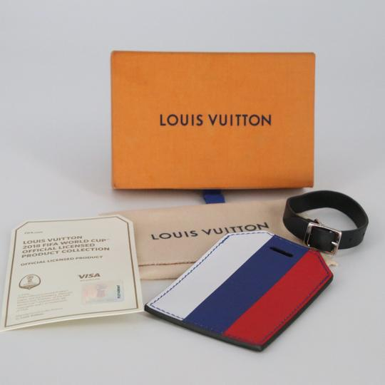 Louis Vuitton Limited Edition Epi Leather FIFA World Cup 2018 Name Luggage Tag Image 1