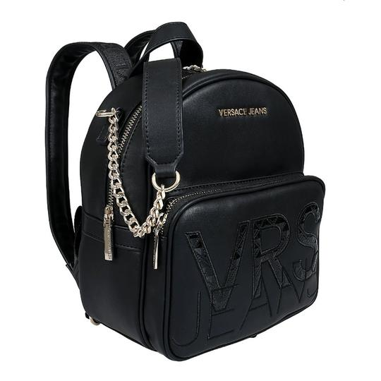 Preload https://img-static.tradesy.com/item/25272763/versace-jeans-collection-black-faux-leather-backpack-0-0-540-540.jpg