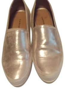 Chinese Laundry Gold Flats