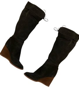 See by Chloé charcoal gray Boots