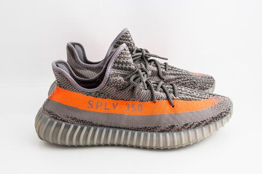 adidas X Yeezy Grey Boost 350 V2 Beluga Shoes Image 3