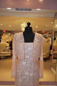 Montage By Mon Cheri Champagne, Gold 21917 Dress