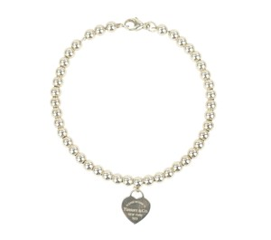 Tiffany & Co. Small Bead Heart Tag