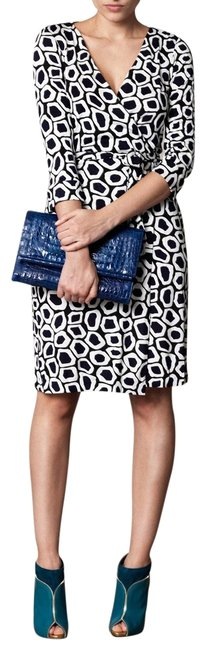 Preload https://img-static.tradesy.com/item/25272885/diane-von-furstenberg-blue-white-and-black-dvf-new-julian-two-stone-leopard-silk-wrap-workoffice-dre-0-1-650-650.jpg