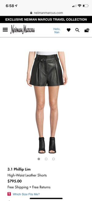 3.1 Phillip Lim Dress Shorts Black Image 3