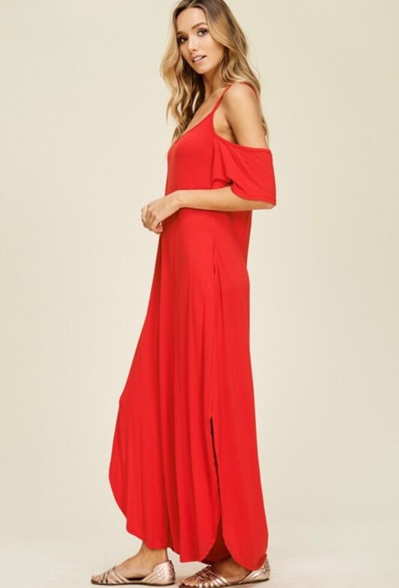 RED Maxi Dress by Annabelle Image 1