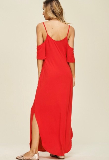 RED Maxi Dress by Annabelle Image 2