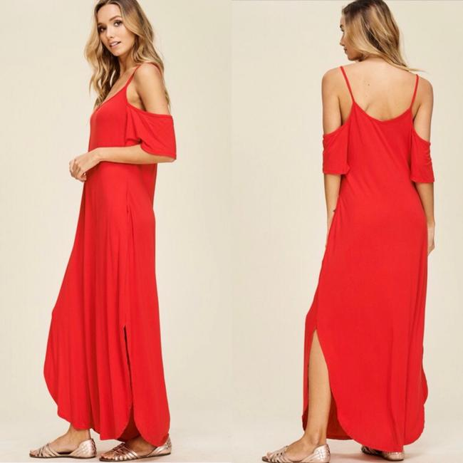 RED Maxi Dress by Annabelle Image 4