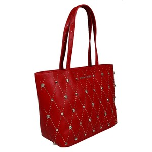 Versace Jeans Collection Tote in Red