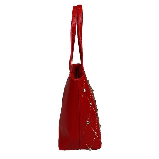 Versace Jeans Collection Tote in Red Image 2