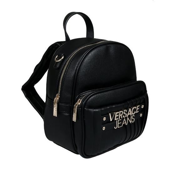 Preload https://img-static.tradesy.com/item/25273019/versace-jeans-collection-black-faux-leather-backpack-0-0-540-540.jpg
