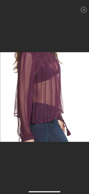 Free People Top purple Image 1