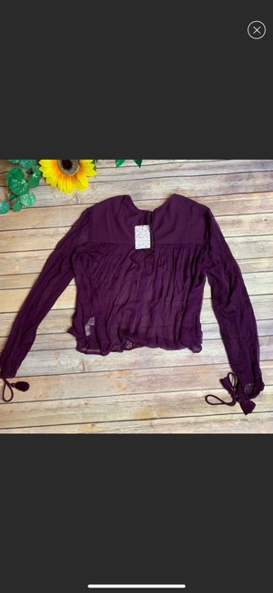 Free People Top purple Image 2