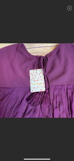 Free People Top purple Image 3