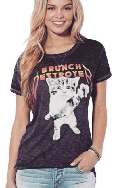 Preload https://img-static.tradesy.com/item/25273056/american-eagle-outfitters-black-graphic-burnout-t-shirt-tee-shirt-size-2-xs-0-1-650-650.jpg