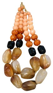 Anthropologie Anthropologie resin bead necklace