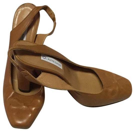 L'Autre Chose Brown Platforms Image 0