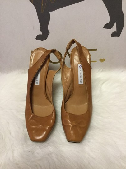 L'Autre Chose Brown Platforms Image 1